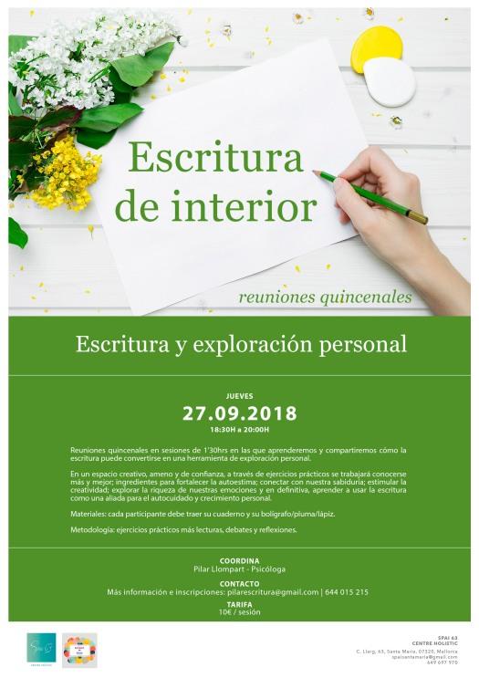 4 ESCRITURA DE INTERIOR quincenal